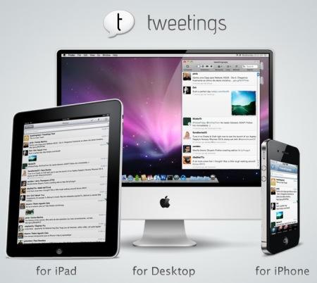 Tweetings products