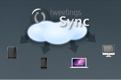Tweetings sync